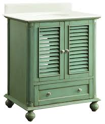 green bathroom vanities houzz