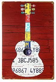 Guitar Home Decor Guitar Home Decor Amazon Com