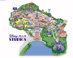 Six Flags New England Map by Park Maps