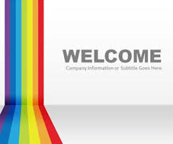 Rainbow Powerpoint Templates Powerpoint Theme