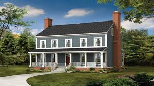 House Plans Farmhouse Country Bedford Modular Colonial House 1st Floor Luxihome