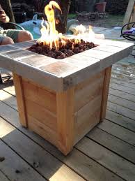 Firepit Glass Build A Gas Pit Table Adamhosmer