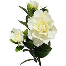 gardenia flower 3x silk wedding flower white gardenia flowers