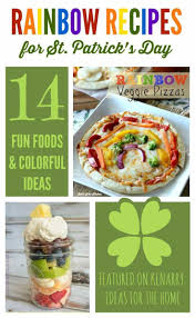 rainbow recipes 14 colorful ideas for st patrick u0027s day