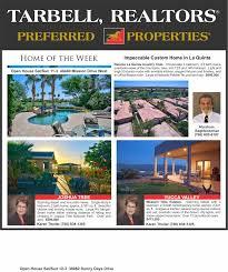 gorgeous desert homes preferred properties from tarbell realtors