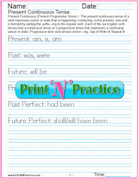 all worksheets present continuous tense worksheets for grade 4