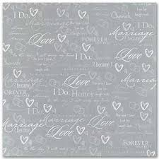 wedding paper silver wedding scrapbook papers by masterpiece studios 12 in