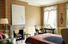 Bedroom With Furniture Bedrooms With Vivid Wallpapers Inspiration Dering Hall