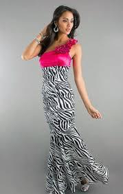 pretty graduation dresses pretty zebra print prom dresses ideas inofashionstyle