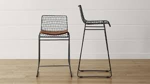 Hunting Chairs And Stools Tig Bar Stools With Cushion Crate And Barrel