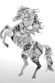 377 best u0027zentangle animals images on pinterest drawings horses
