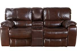 affordable reclining leather loveseats rooms to go furniture