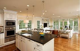 open concept kitchen ideas kitchen best open concept kitchen with island used solid wood