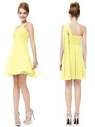yellow bridesmaid dress one shoulder yellow bridesmaid dresses 100 more colors