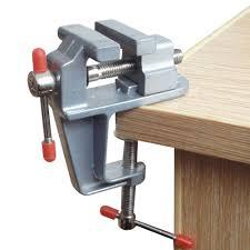 vivian mini table bench vise swivel lock clamp craft hobby craft
