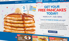 Get Free Pancakes At Participating Eat Well Do Ihop S Free Pancake Day