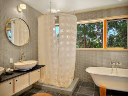 ikea curtain rods convention other metro modern bathroom image
