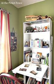 Folding Bookcase Plans How To Turn Any Bookcase Into A Fold Down Desk Easiest If You Use