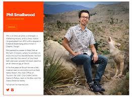 smallwood advertising tear sheet gumco website portait phil smallwood
