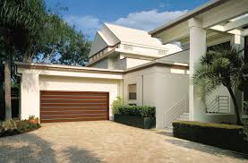 contemporary wood garage doors reserve modern by clopay