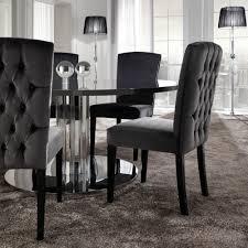 Velvet Dining Room Chairs Captivating Black Velvet Dining Room Chairs Gallery Best Ideas