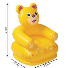 Baby Chairs Online Shopping India Buy Nyrwana Kid U0027s Intex Teddy Bear Inflatable Chair Online At Low