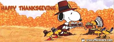 snoopy happy thanksgiving cover timeline cover