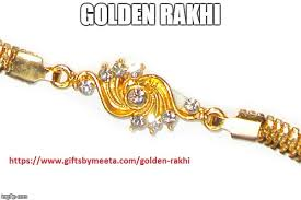 buy rakhi online buy golden rakhi online imgflip