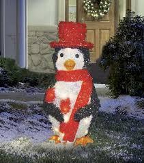 penguin outdoor decorations lizardmedia co