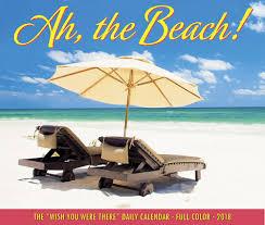Desk Daily Calendar The Beach 2018 Daily Desk Calendar