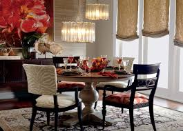 Dining Room Furniture Ethan Allen Cooper Round Dining Table Dining Tables Ethan Allen Dining