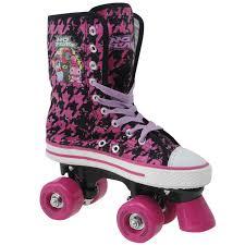 no fear motocross boots no fear no fear canvas childrens girls quad skates kids roller
