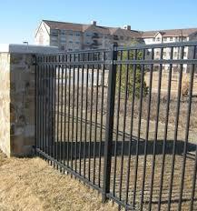 ornamental steel fencing company st louis fence installation