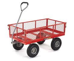 gorilla platform home depot black friday gorilla carts steel utility cart w removable sides 800 lb