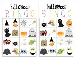 Halloween Bingo Printable Cards Free Recipes From Stephanie Halloween Bingo