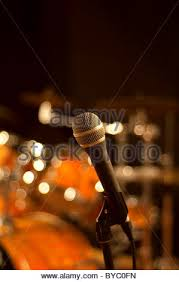 Drum Set Lights Live Music Background Drum On Stage Stock Photo Royalty Free