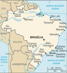 parana river map geography for