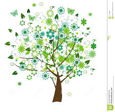 floral tree stock images image 11729984