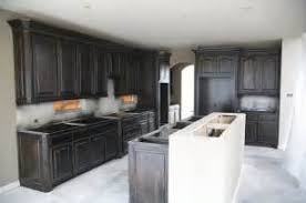Black Stained Kitchen Cabinets Theedlos - Black stained kitchen cabinets