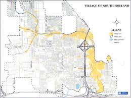 Flood Plain Map Village Of South Holland Little Calumet River Flood Levels