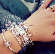 bangle charm bracelet pandora images Watch charm bracelet complete pandora bracelets jpg