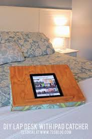Lap Desk With Pillow Bottom Make Your Own Lap Desk Out Of An Old Pillow Nifty Creative Home