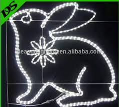 Christmas Rope Light Motifs by Led Christmas Lights Wholesale Rabbit Rope Light Motif For Outdoor