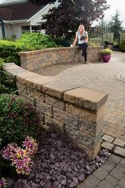 garden walls stone diy garden wall blocks tobermore