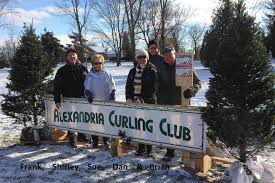 alexandria festival of lights alexandria curling club rocks the festival of lights the glengarry