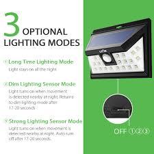 litom solar lights outdoor litom solar lights outdoor wireless 24 led motion sensor solar