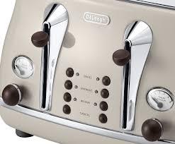 Deloghi Toaster Delonghi Cto4003vbg Icona Vintage 4 Slice Toaster Appliances Online