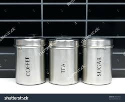 kitchen canisters stainless steel modern canister set accessories for kitchen decoration simple