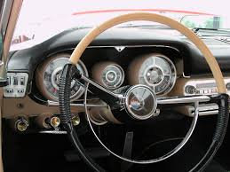 dashboard of 1958 search cars chrome fins dashes