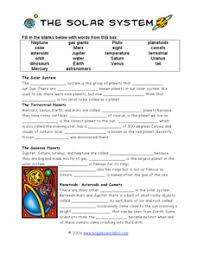 solar system 6th grade worksheets page 2 pics about space